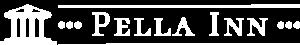 Pella Inn White Logo